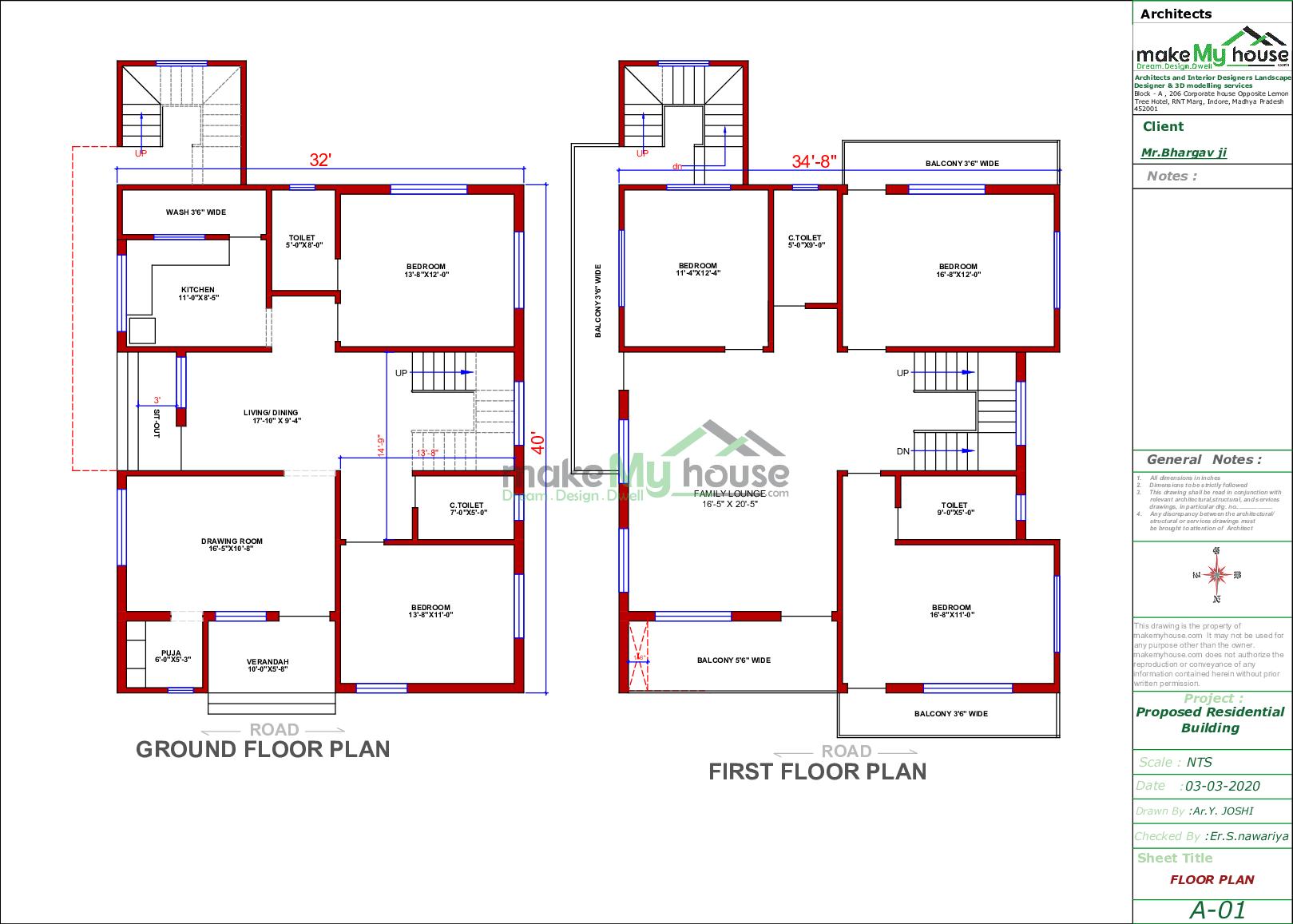 211x211 Home Plan  211 sqft Home Design 21 Story Floor Plan